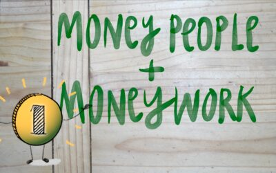 Money, money, money – How our money stories relate to the creative process + Watch me draw CU*money people on my iPad